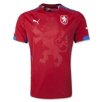 Czech Republic 2014 Home Soccer Jersey