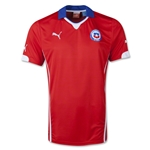 Chile 2014 Home Soccer Jersey