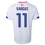 Chile 14/15 VARGAS Away Soccer Jersey