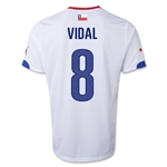 Chile 14/15 VIDAL Away Soccer Jersey