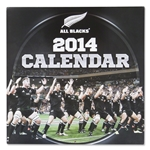 New Zealand All Blacks 2014 Calendar