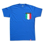 Italy Italia Pocket T-Shirt (Royal)