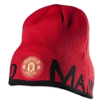 Manchester United Reversible Solid Beanie