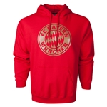 Bayern Munich Metallic Crest Hoody (Red)