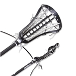 deBeer Lacrosse Spire Full Stick Gripper Pro-S Pocket (Black)