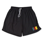 Cameroon Team Soccer Shorts (Black)