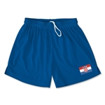 Croatia Team Soccer Shorts (Royal)