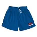 Serbia Team Soccer Shorts (Royal)
