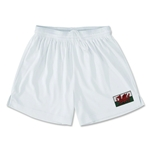 Wales Team Soccer Shorts (White)