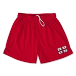 Georgia Team Soccer Shorts (Red)