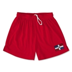 Dominican Republic Team Soccer Shorts (Red)