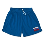 Slovakia Team Soccer Shorts (Royal)
