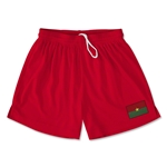 Burkina Faso Team Soccer Shorts (Red)
