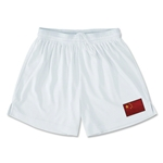 China Team Soccer Shorts (White)