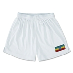 Ethiopia Team Soccer Shorts (White)