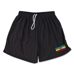 Ethiopia Team Soccer Shorts (Black)