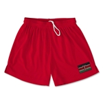 Kenya Team Soccer Shorts (Red)
