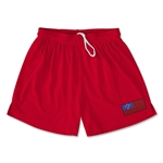 Samoa Team Soccer Shorts (Red)