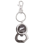 All Blacks Bottle Opener Keyring