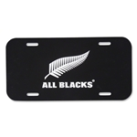 All Blacks License Plate