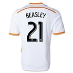 Houston Dynamo 2014 BEASLEY Secondary Soccer Jersey
