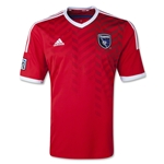 San Jose Earthquakes 2014 Secondary Soccer Jersey