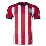 Chivas USA 2014 Authentic Primary Soccer Jersey