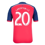 Chicago Fire 2014 LARENTOWICZ Authentic Primary Soccer Jersey