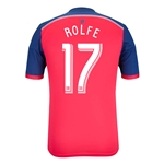 Chicago Fire 2014 ROLFE Authentic Primary Soccer Jersey
