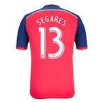 Chicago Fire 2014 SEGARES Authentic Primary Soccer Jersey