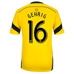Columbus Crew 2014 GEHRIG Authentic Primary Soccer Jersey
