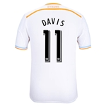 Houston Dynamo 2014 DAVIS Authentic Secondary Soccer Jersey