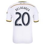 LA Galaxy 2014 DELAGARZA Authentic Primary Soccer Jersey