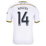 LA Galaxy 2014 ROGERS Authentic Primary Soccer Jersey