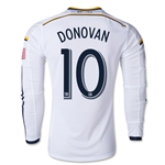 LA Galaxy 2014 DONOVON LS Authentic Home Soccer Jersey