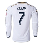 LA Galaxy 2014 KEANE LS Authentic Home Soccer Jersey