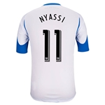 Montreal Impact 2014 NYASSI Authentic Secondary Soccer Jersey