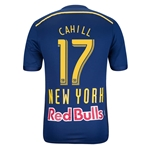 New York Red Bulls 2014 CAHILL Authentic Secondary Soccer Jersey