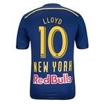 New York Red Bulls 2014 LLOYD Authentic Secondary Soccer Jersey