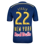 New York Red Bulls 2014 STEELE Jersey de Futbol Secundario Autentico