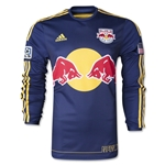 New York Red Bulls 2014 LS Authentic Away Soccer Jersey