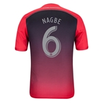 Portland Timbers 2014 NAGBE Authentic Secondary Soccer Jersey