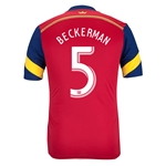 Real Salt Lake 2014 BECKERMAN Authentic Primary Soccer Jersey