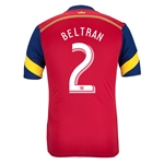 Real Salt Lake 2014 BELTRAN Authentic Primary Soccer Jersey