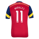 Real Salt Lake 2014 MORALES Authentic Primary Soccer Jersey
