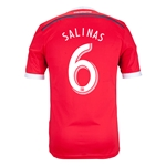 San Jose Earthquakes 2014 SALINAS Authentic Secondary Soccer Jersey
