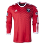 San Jose Earthquakes 2014 LS Authentic Secondary Soccer Jersey