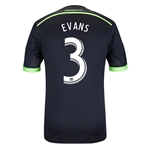 Seattle Sounders 2014 EVANS Authentic Third Soccer Jersey
