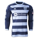 Sporting KC 2014 LS Authentic Secondary Soccer Jersey