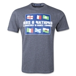 Six Nations 2014 Flag T-Shirt